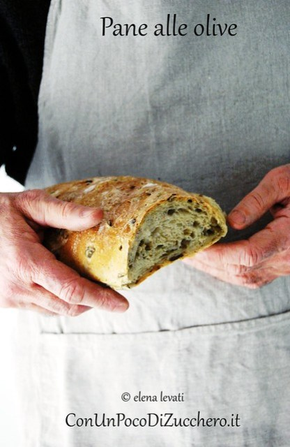Pane alle olive 1