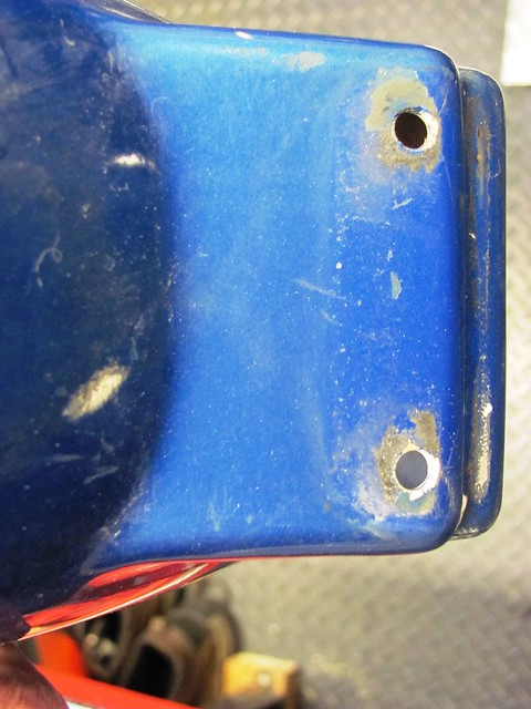 Rear Fender Cracks