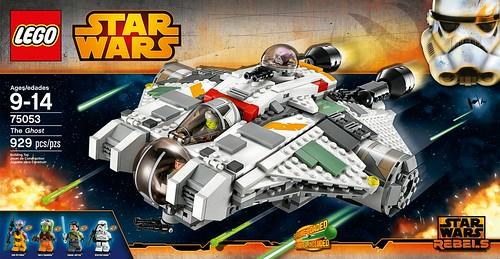 Star Wars Rebels 75053 The Ghost