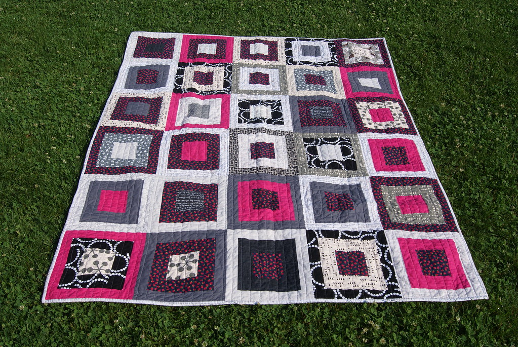 kokka strawberry leftovers quilt