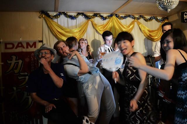 Gatsby Does Karaoke