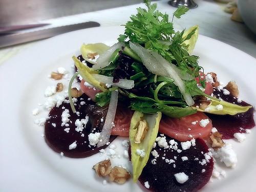 beet salad - composed by pipsyq
