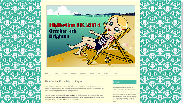 New Site Skin - BlytheCon UK 2014 Brighton