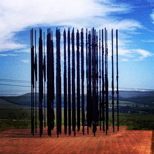 The Mandela monument at the capture site