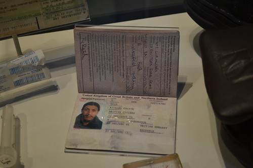 Richard Reid's passport