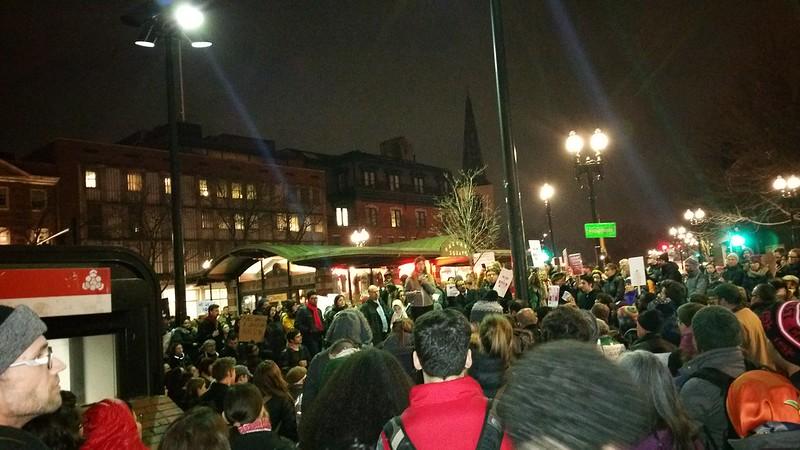 Emergency Rally Against Muslim Ban 2.0 @ Harvard