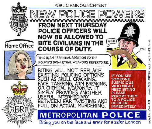New Police Powers