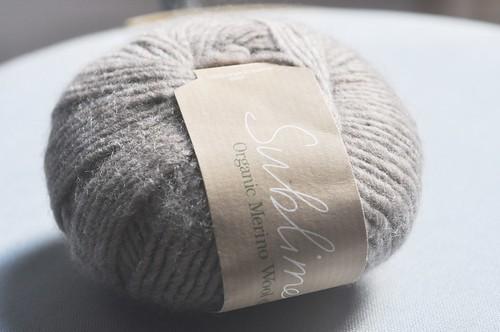Sublime Yarns Organic Merino Wool DK