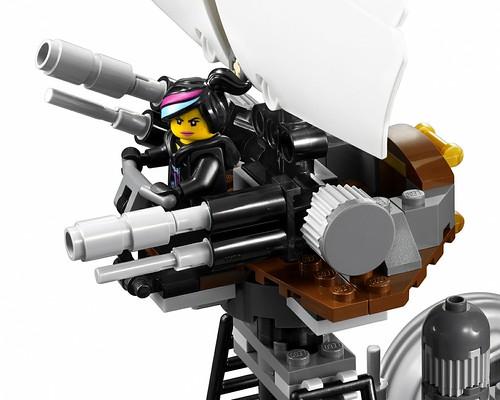 The LEGO Movie 70810 MetalBeard's Sea Cow features 1