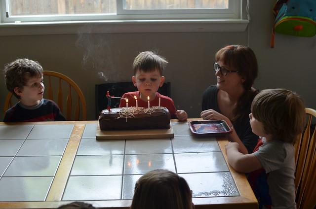 Jack's 4th Birthday
