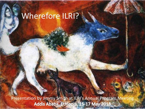 Wherefore ILRI - Presentation by Jimmy Smith