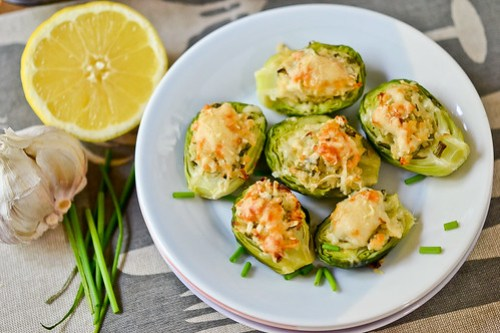 Brussels Sprouts Stuffed with Cheese-13