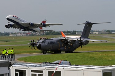A380 y A400M