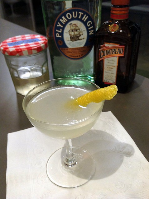 Sunflower: gin, lemon, cointreau, homemade elderflower cordial, pastis