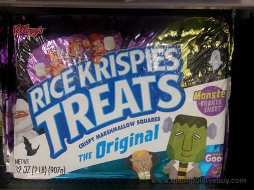 Kellogg's Rice Krispies Treats Monster Treats Sheet