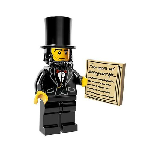 The LEGO Movie Minifigures Abraham Lincoln