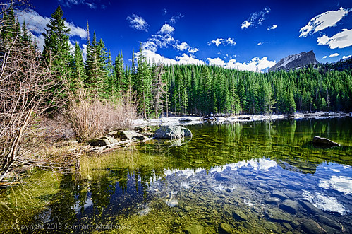 Bear Lake | Rocky Mountain National Park, CO | June, 2013 by Somnath Mukherjee Photoghaphy