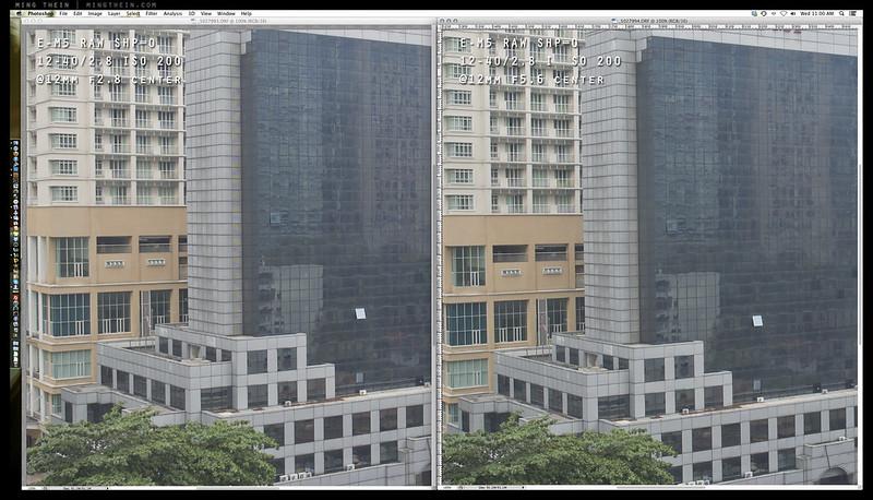 12-40 comparison 2 12 center