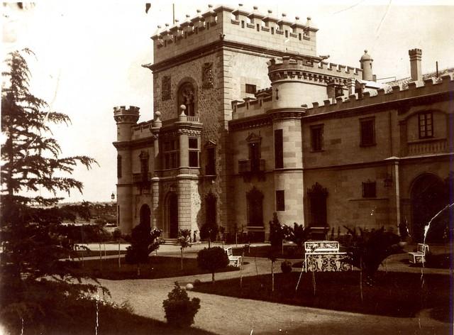 Palacio de la Sisla en 1910. Colección de José Luis Isabel