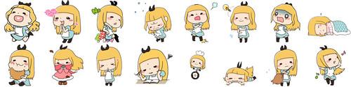WeChat療癒系超萌「妞妞」16款動態貼圖  大受好評!