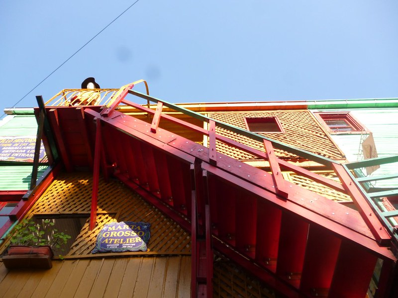 La Boca's colorful buildings