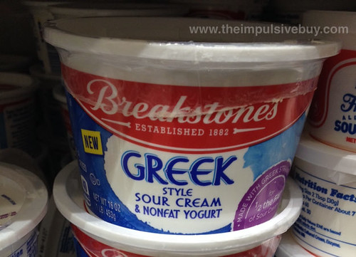 Breakstone's Greek Style Sour Cream & Nonfat Yogurt