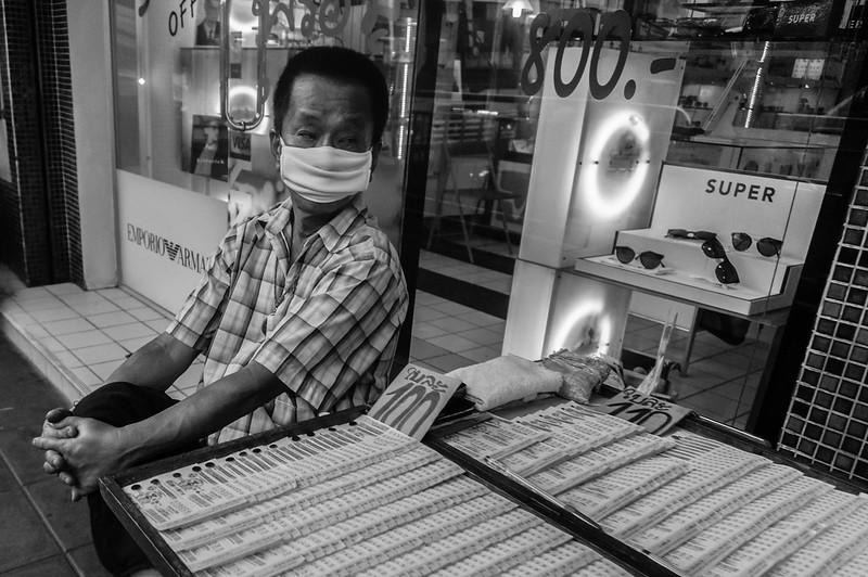Masked, Bangkok, Thailand