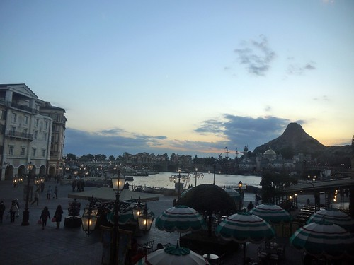 disneysea night