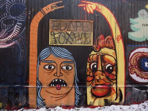 Centre-Fuge Public Art Project, Cycle 14: Foxx Face
