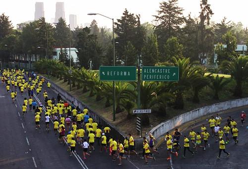 Split 9K adidas Maraton de la Ciudad de México