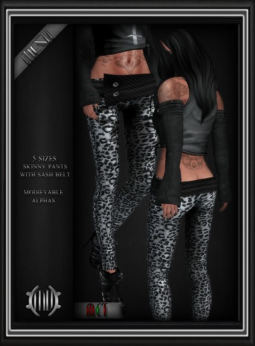 Skinny Leopard Pants