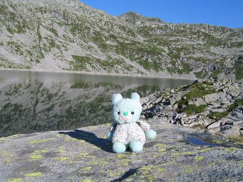 Choppy al Lago della Vacca