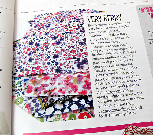 Very Berry Fabrics, Liberty Lawn for everyone!