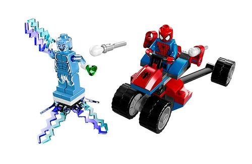 76014 Spider-Trike vs Electro