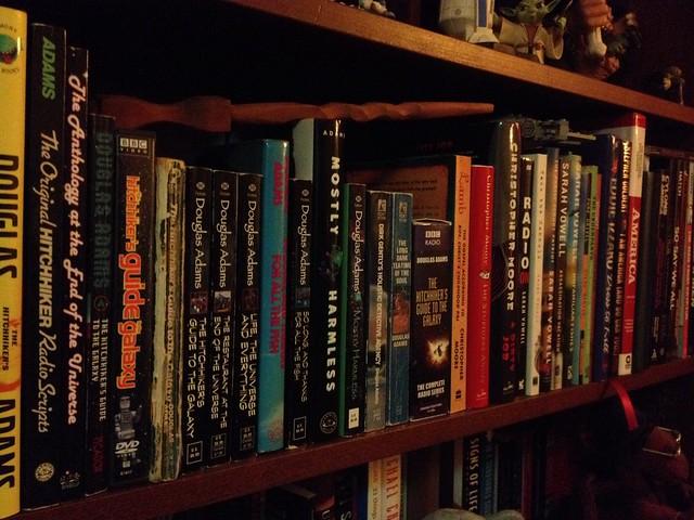 Book shelfies