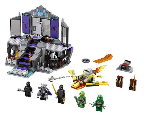 Teenage Mutant Ninja Turtles 79122 Shredder's Lair Rescue