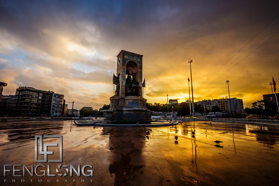 Taksim Square Sunrise