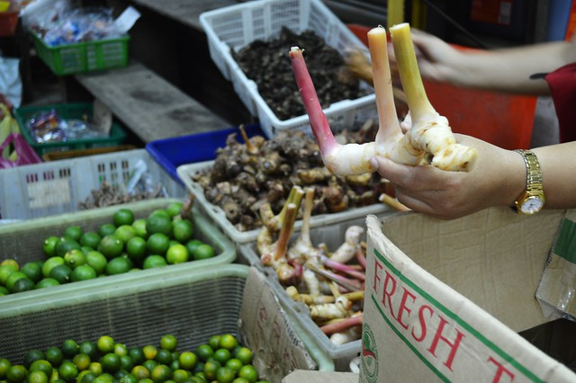 ingredients from the market penang