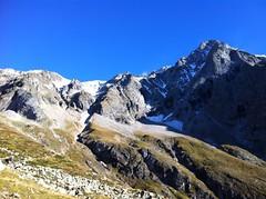 Aufstieg Rieserfernerhütte