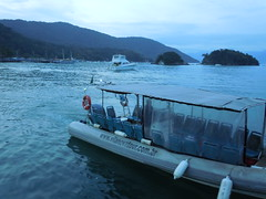 The Vessel I took to Ilha Grande