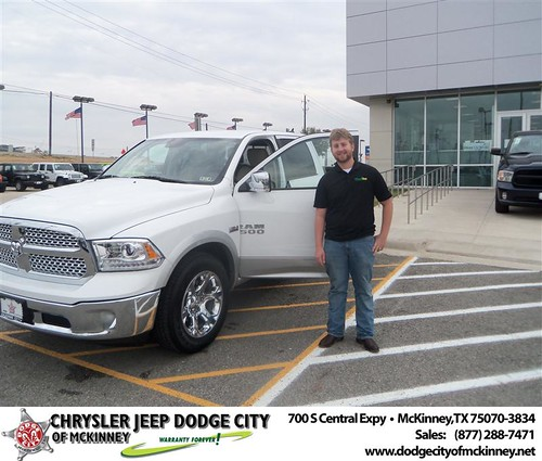 Happy Anniversary to Alexander T Wallace on your 2013 #Dodge #1500Cc from Nichole Betts  and everyone at Dodge City of McKinney! #Anniversary by Dodge City McKinney Texas