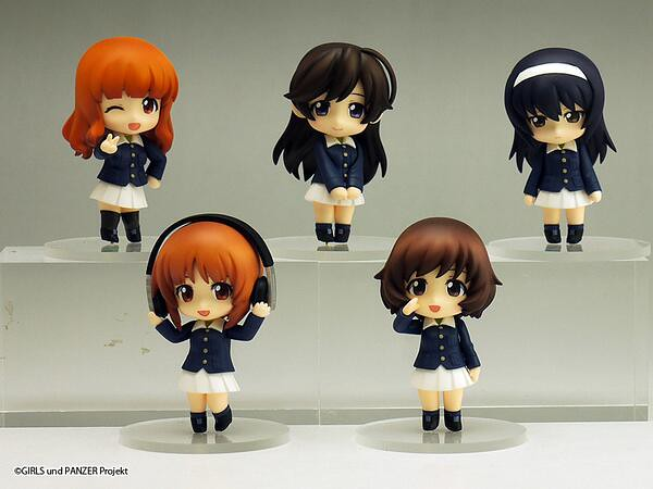 Nendoroid Petite: Girls and Panzer set