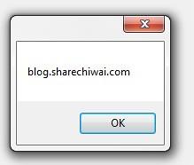 blog.sharechiwai.com Url Pop-up
