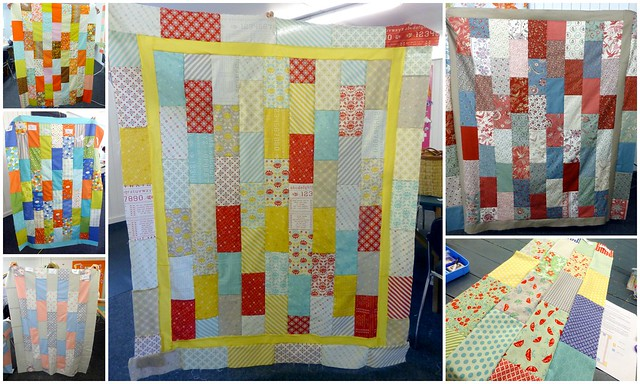 Brick Layer Cake Quilt Top Workshop