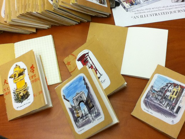 micro-sketchbooks