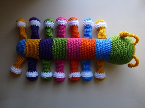Crochet caterpillar