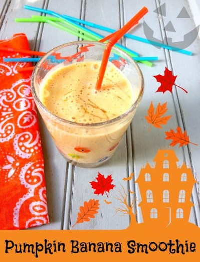 Pumpkin Banana Smoothie recipe