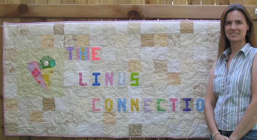 The Linus Connection Banner (& Me!)