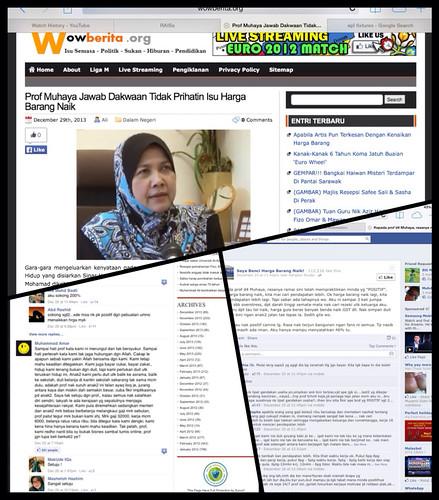 Prof Muhaya & Harga Barang
