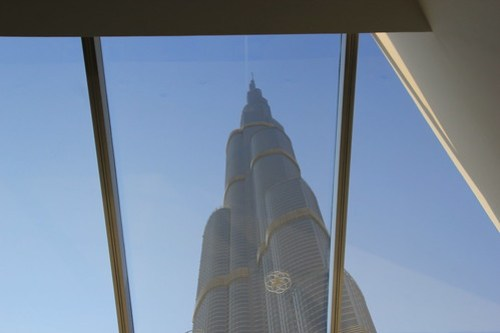 View of Burj Khalifa from Skylight, Dubai, UAE